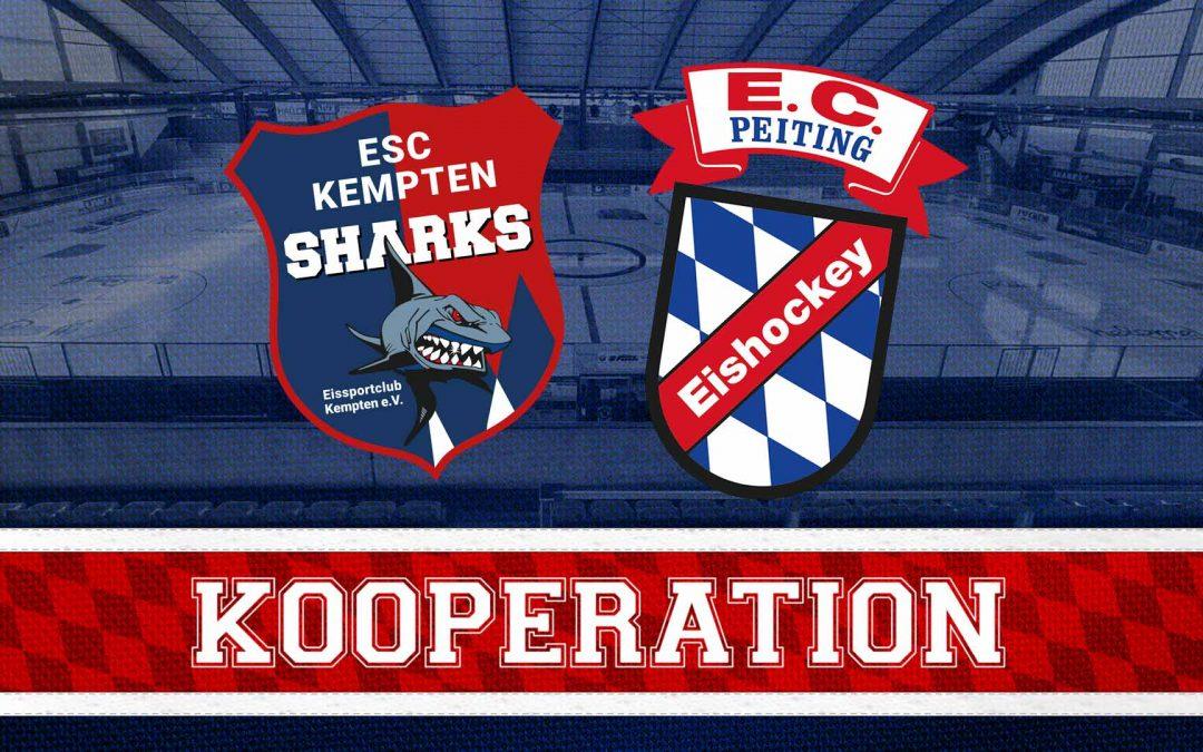 ESC KEMPTEN STARTET KOOPERATION MIT DEM EC PEITING
