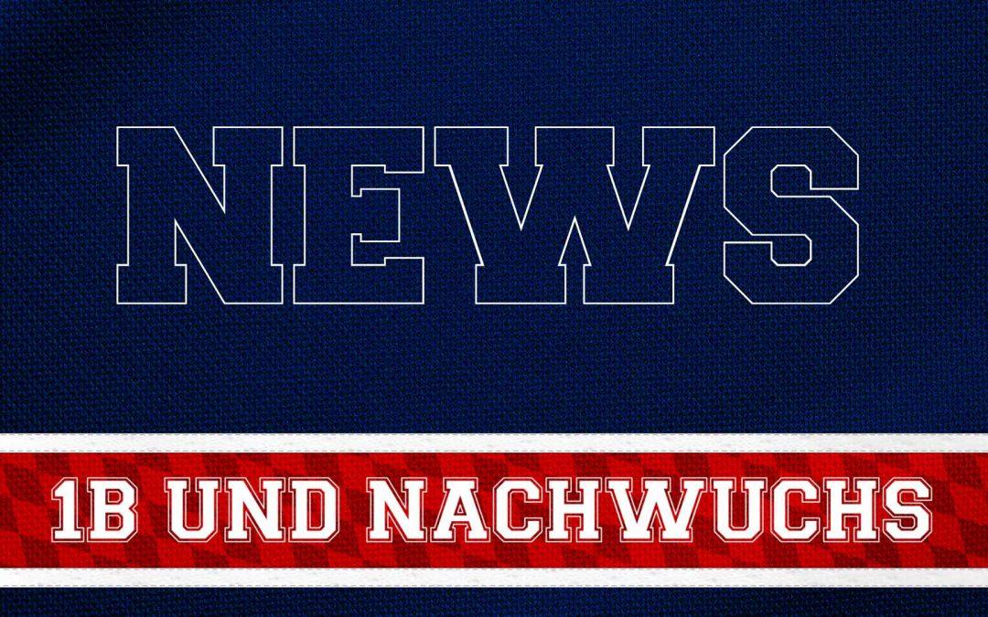 1B UND NACHWUCHS VORSCHAU